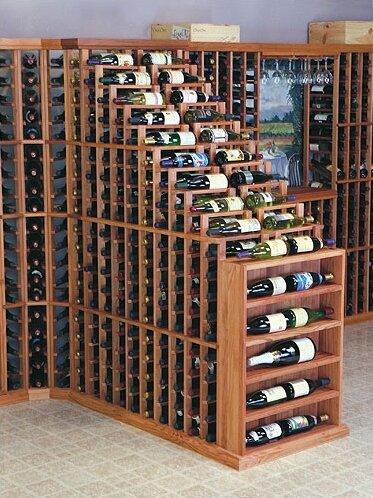 Florez 282 Bottle Floor Wine Bottle Rack by Symple Stuff Symple Stuff