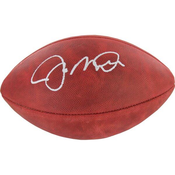 Joe Montana Signed Football by Steiner Sports