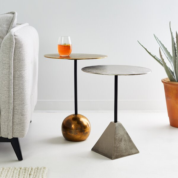 Pontianak 2 Piece End Table Set By World Menagerie