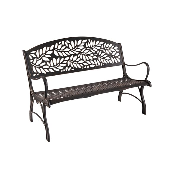 Coates Floral Cast Iron Park Bench by Rosalind Wheeler