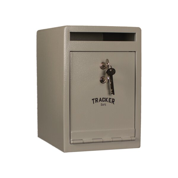 Steel Depository Safe with Key Lock by Tracker Saf