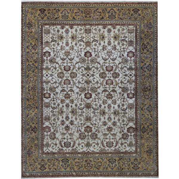 One-of-a-Kind Sona Hand-Knotted Brown 12' x 15'1 Area Rug