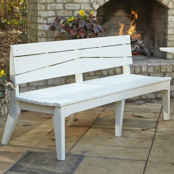 Hourglass Garden Bench by Uwharrie Chair