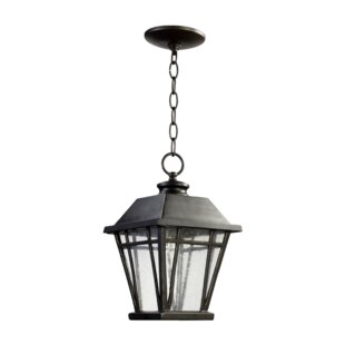 Reviews Earby 1-Light Outdoor Hanging lantern By Charlton Home