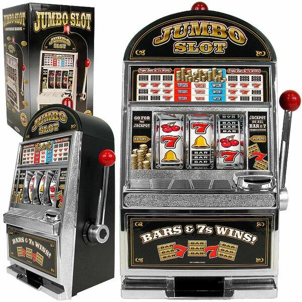 Jumbo Slot Machine Bank - Replication by Trademark GlobalJumbo Slot Machine Bank - Replication by Trademark Global