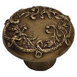Flower Patch Victorian Mushroom Knob by Premier Hardware Designs