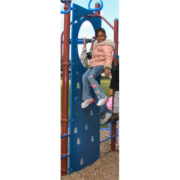 Climbing Wall and Sign by Kidstuff Playsystems, Inc.