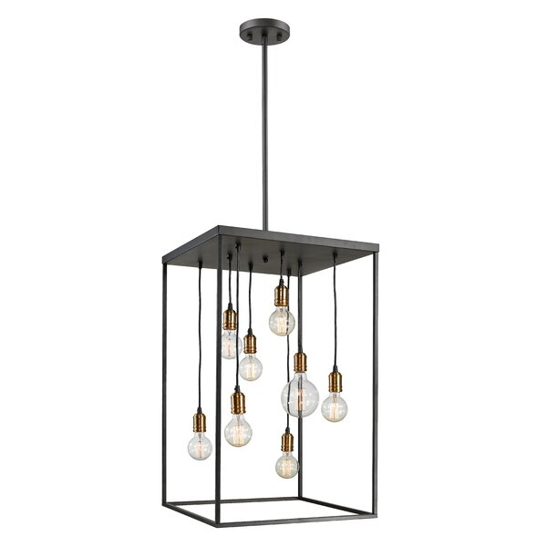 Crepeau 8-Light Candle Style Rectangle / Square Chandelier By Williston Forge