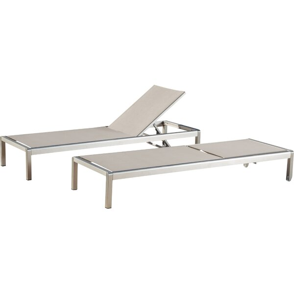 Durbin Chaise Lounge (Set of 2) by Wade Logan