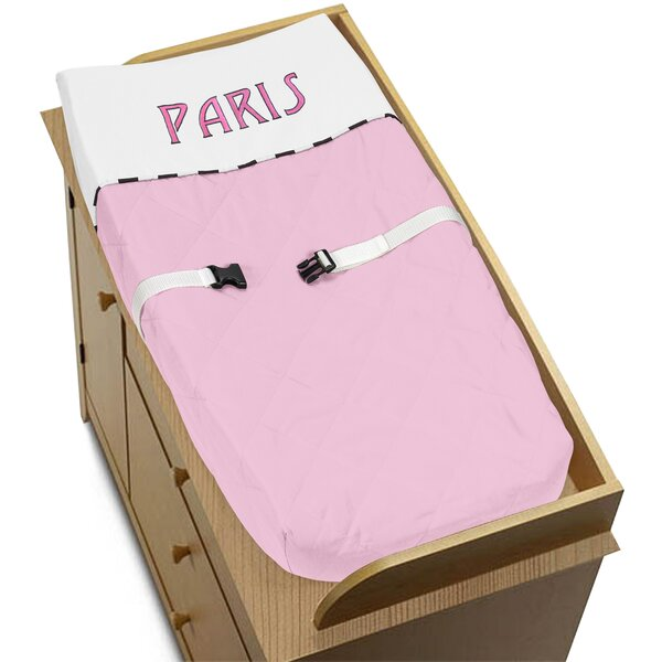 Paris Changing Pad Cover by Sweet Jojo Designs
