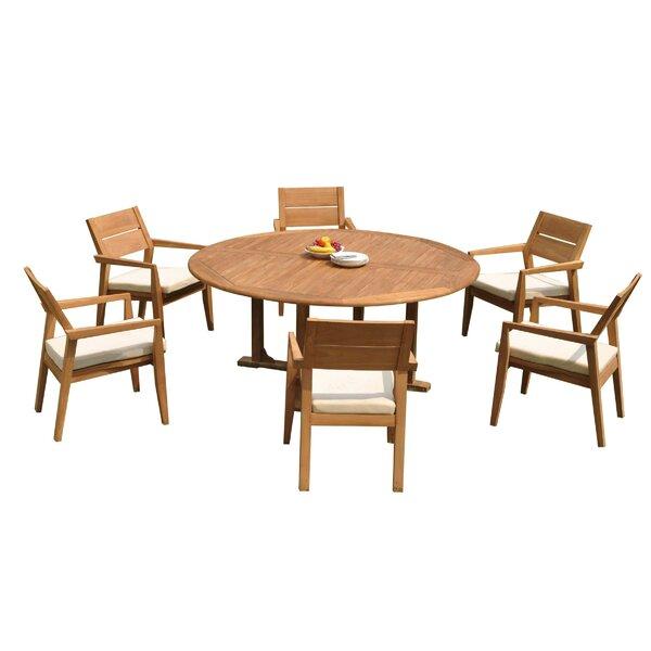 Maston 7 Piece Teak Dining Set