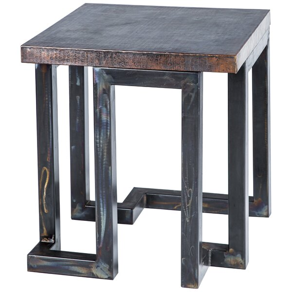 Teller End Table by Williston Forge