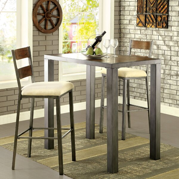 Thurman 3 Piece Pub Table Set by Red Barrel Studio