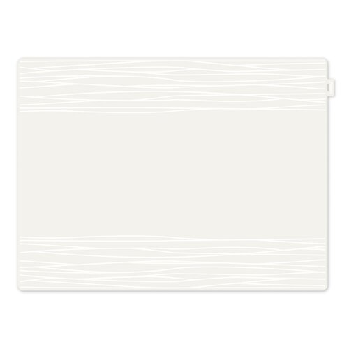 Tischset Shorewood 17 Stories Farbe: Weiß   Heimtextilien > Tischdecken und Co > Tisch-Sets   17 Stories