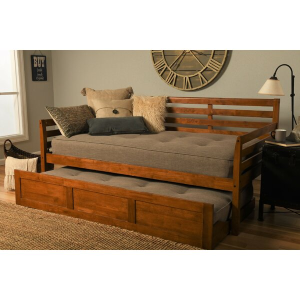 Review Haney Twin Daybed With Trundle And Mattress