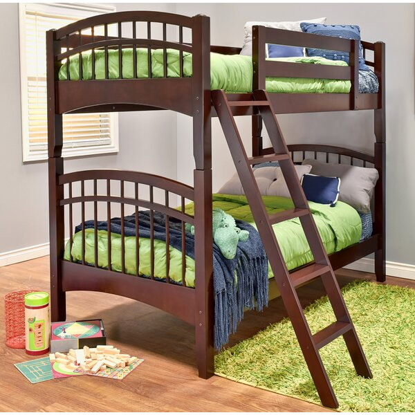 Sandisfield Twin over Twin Bed by Zoomie Kids