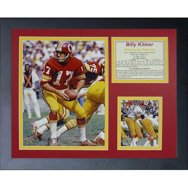 Billy Kilmer Framed Memorabilia by Legends Never Die
