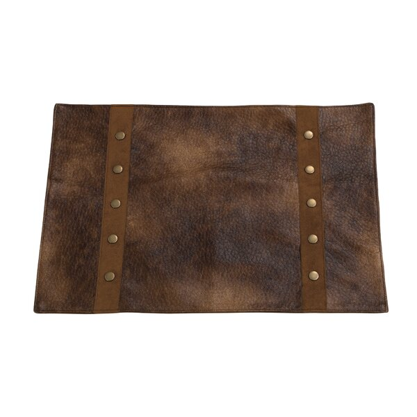 Vail Faux Leather Placemat (Set of 4) by Loon Peak