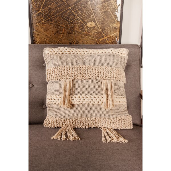 Googe Rustic Pillow Cover by Bungalow Rose