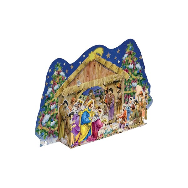 Sellmer Standup Nativity Advent Calendar by The Holiday Aisle