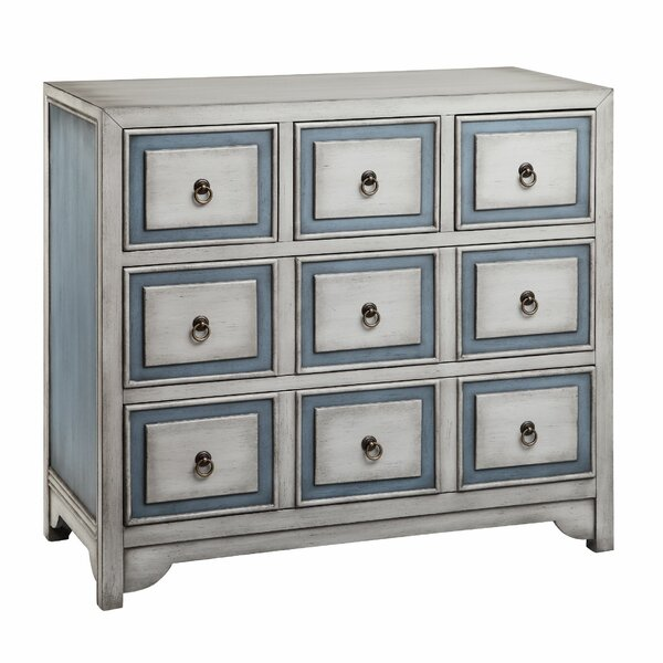 Thornbury 9 Drawer Chest by Highland Dunes