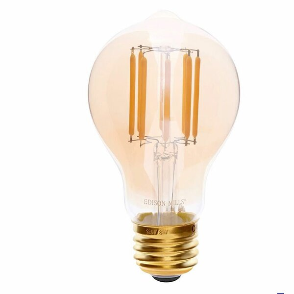 E26 LED Vintage Filament Light Bulb by Edison Mills