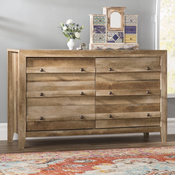 Riddleville 6 Drawer Double Dresser by Greyleigh