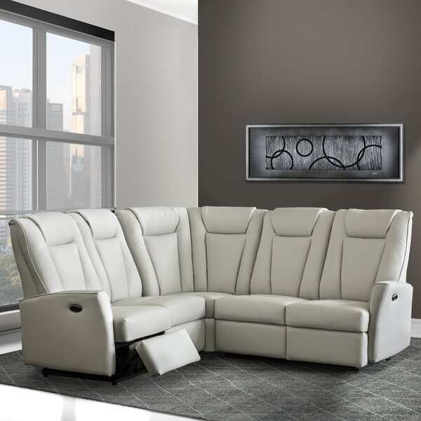 Langdon Symmetrical Reclining Sectional by Relaxon