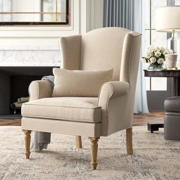 Loire Wingback Chair by Zentique