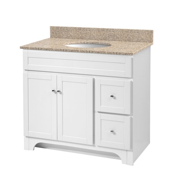 Deanfield 37 Single Bathroom Vanity Set by Hazelwood Home