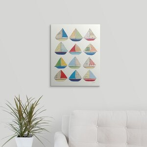 Wind and Waves VII by Courtney Prahl Graphic Art on Wrapped Canvas by Great Big Canvas