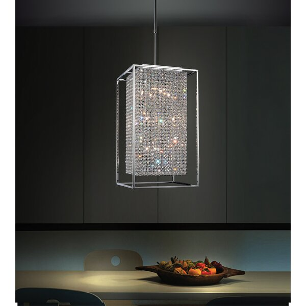 Beckles 11-Light Unique / Statement Rectangle / Square Chandelier By House Of Hampton
