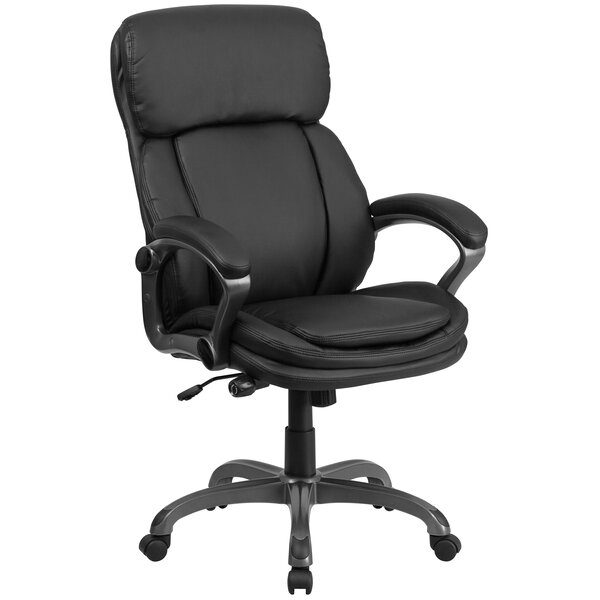 Wycoff High-Back Executive Chair by Symple Stuff