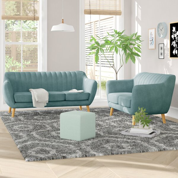 Villalba Sophisticated and Stylish 2 Piece Living Room Set by George Oliver