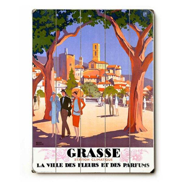 Grasse Vintage Advertisement by Red Barrel Studio