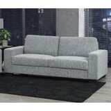 78 Square Arm Sofa by Brassex