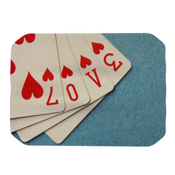 Love Placemat by KESS InHouse