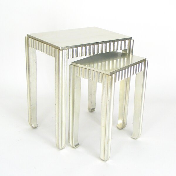 Tergel 2 Piece Nesting Table Set I by House of Hampton