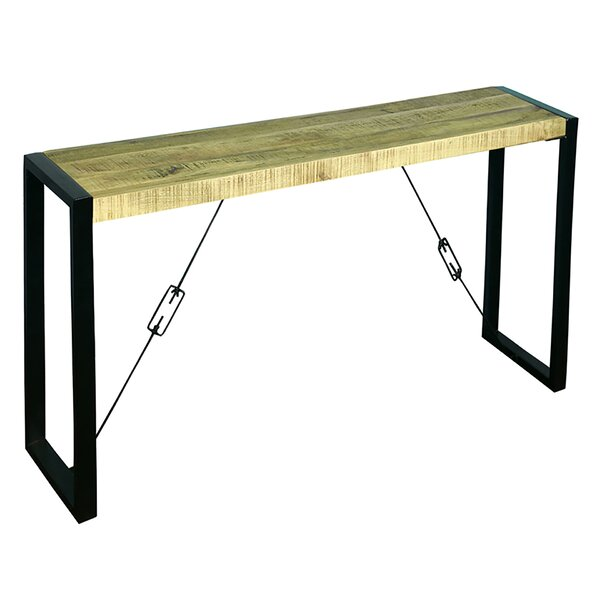 Galaz Solid Wood Console Table By Union Rustic