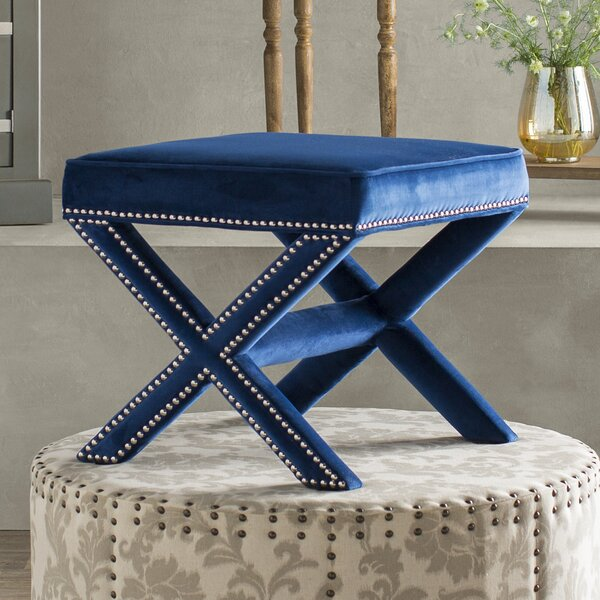 Rivet Vanity Stool by Modway