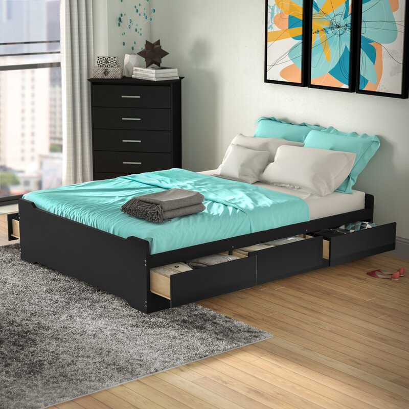 platform to bed size build with twin drawers storage a how white