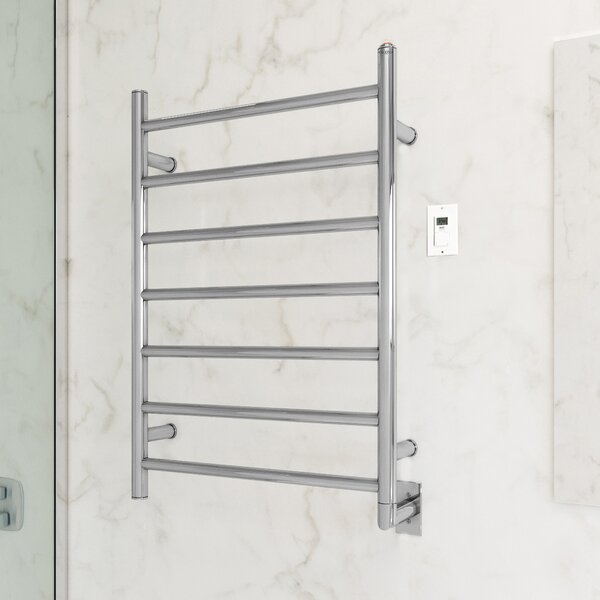 Comfort Wall Mount Electric Towel Warmer with Timer by Ancona