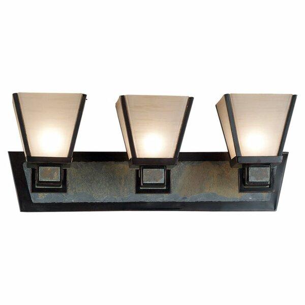 Clean Slate 3-Light Vanity Light by Wildon Home ®