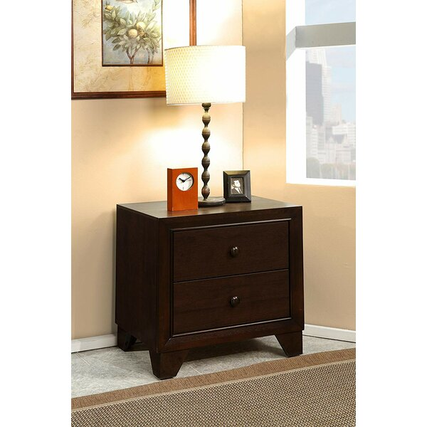 Foret 2 Drawer Nightstand by Winston Porter
