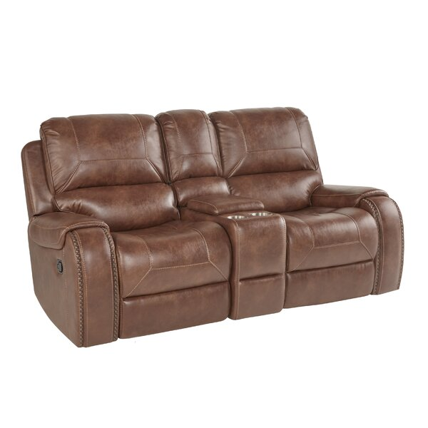 Stampley Reclining Loveseat by Millwood Pines