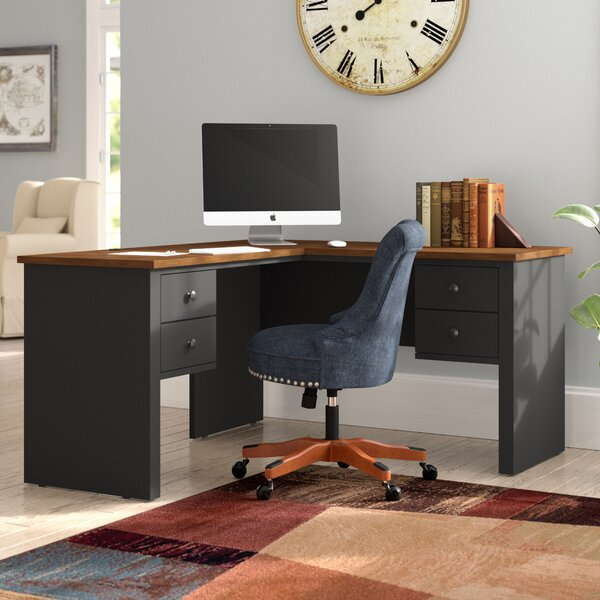 Deweese L-Shape Executive Desk by Red Barrel Studio