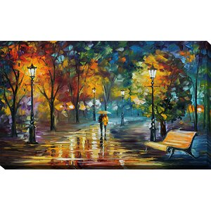 Soul of the Rain by Leonid Afremov Painting Print on Wrapped Canvas by Picture Perfect International