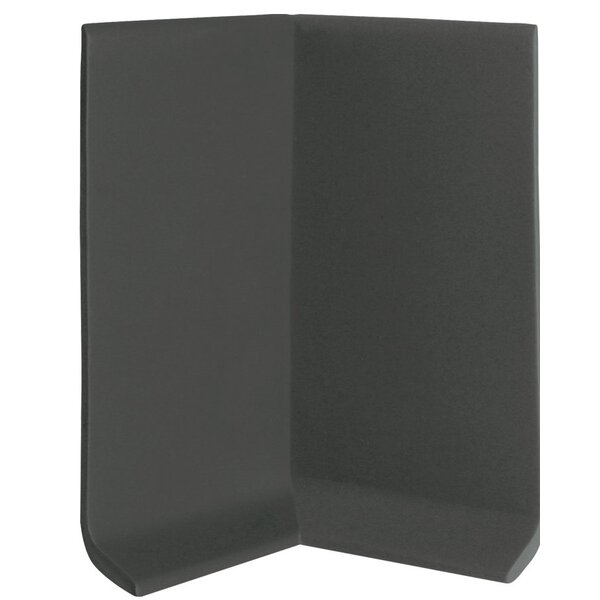 2.25 x 4 x 2.25 Cove Molding in Black Brown (Set of 25) by ROPPE