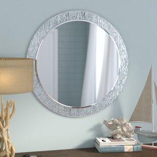 Point Reyes Molten Round Wall Mirror