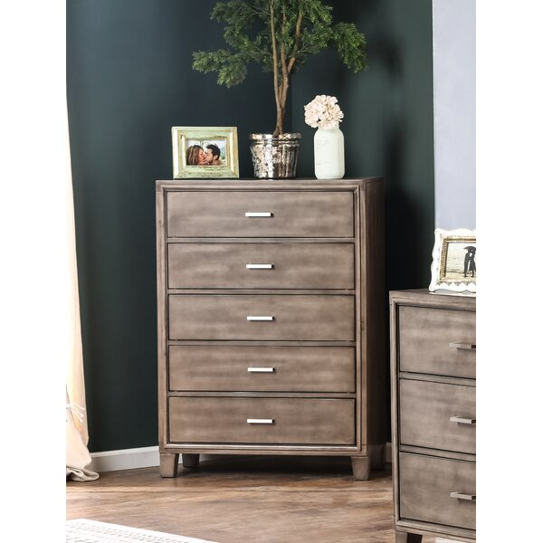 Brigham 5 Drawer Chest by Trule Teen